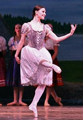 Sarah Lane Giselle Act I variation LBT