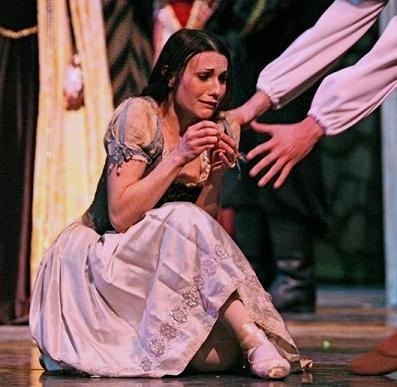 Sarah Lane Giselle Act I LBT Mad Scene