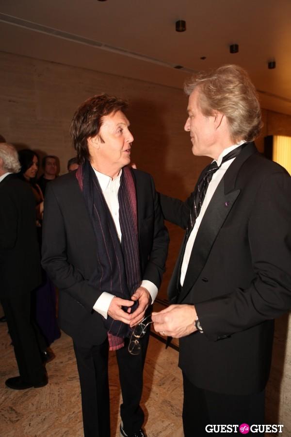 Sir Paul and Peter Martins