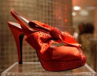 Stuart Weitzman ruby shoe