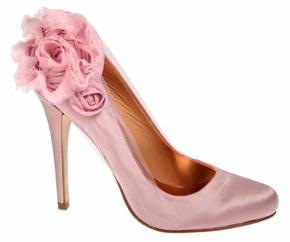 Pink flower spikes