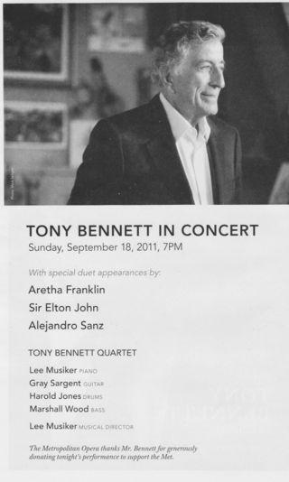 Tony Bennett 1 1
