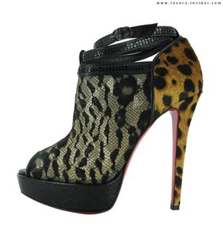 Sophisticate lace and leopard cub print
