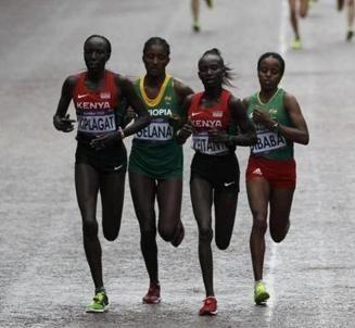 Olympic marathon runners