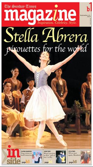 Stella Abrera Sunday Times Magazine