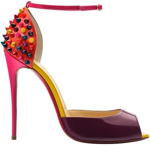 Christian-Louboutin-Fall-2014-Collection-Pina-Spike-Pink-Leather