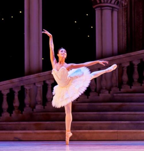 Ba-Stella Abrera as Aurora in Sleeping Beauty-by Evan Li