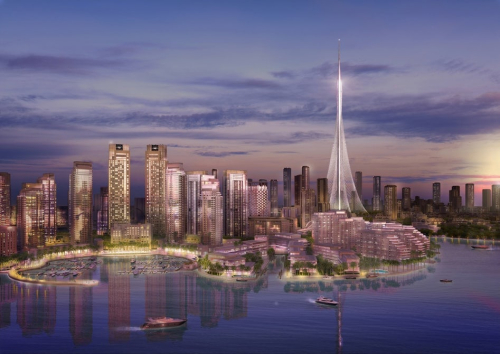 Dubai-creek-tower-foundations-completed-4