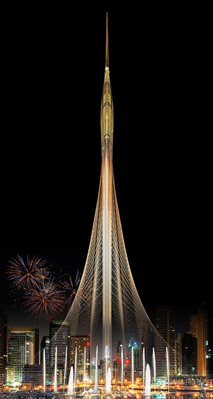 Dubaicreektower_(c)calatrava