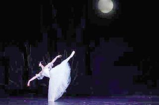 Giselle under the moon
