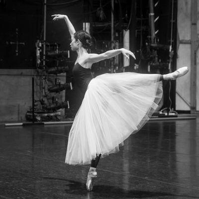 Stella Abrera Gisella rehearsal Aussie Ballet