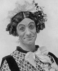 Dan Leno pantomime artist