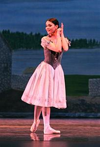 Sarah as Giselle with Lake Cities Ballet