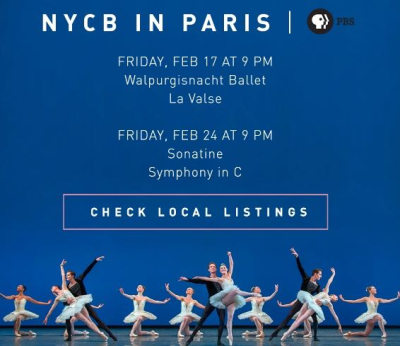 NYCB- Paris PBS special