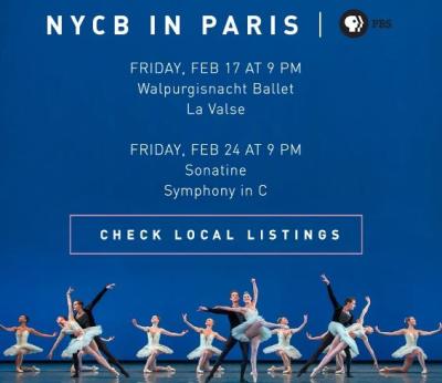 NYCB- Paris PBS special