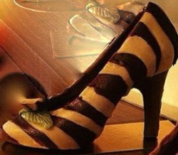 Chocolate and coffee stiletto