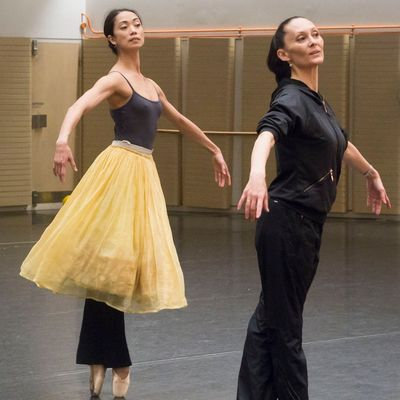 Stella Abrera with Fiona Tonkin