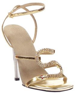 Gold Egyptian sandals