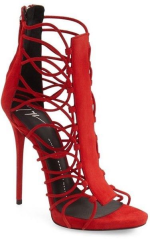 Fierce red stiletto