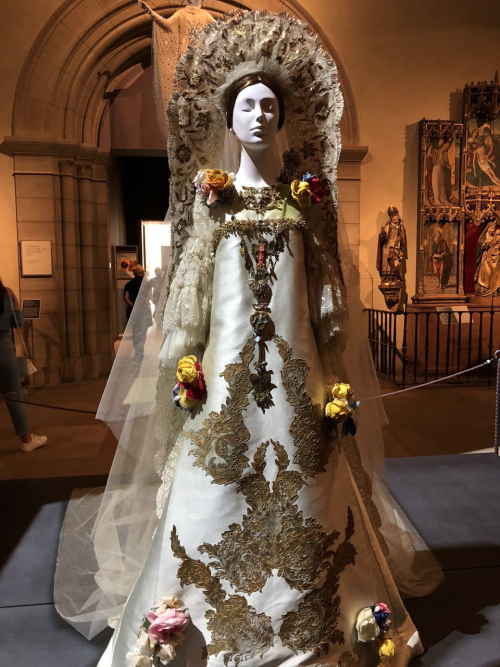 Christian Lacroix wedding ensemble