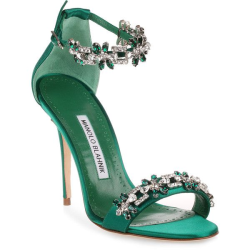 Manolo blahnik emeralds